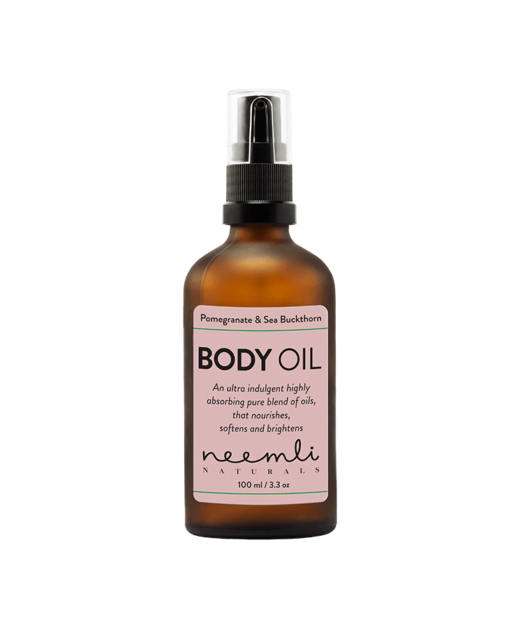 NEEMLI POMEGRANATE & SEA BUCKTHORN BODY OIL