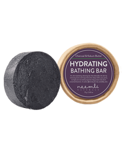 NEEMLI CHARCOAL & KOKUM BUTTER HYDRATING BATHING BAR