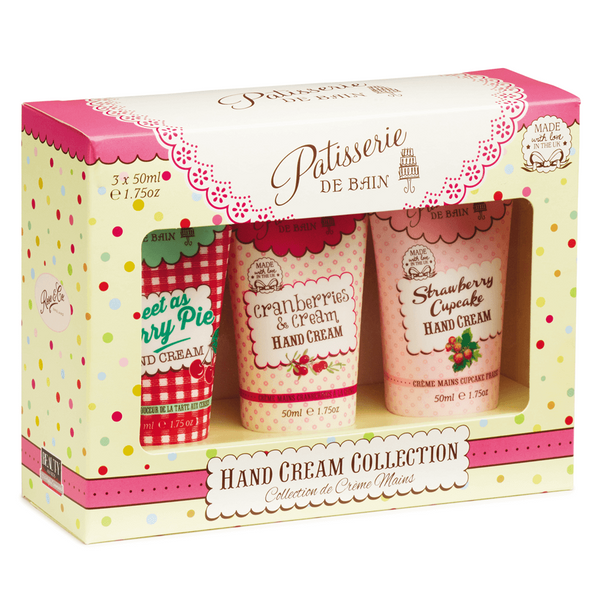 HAND CREAM GIFT SET TRIO TUBE