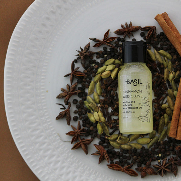 Basil Skincare Cinnamon & Clove Face Cleansing Oil