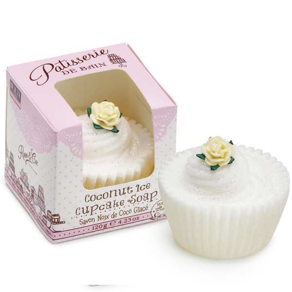 COCONUT ICE CUPCAKE SOAP