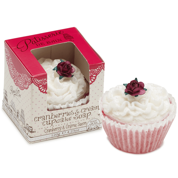 CRANBERRIES & CREAM CUPCAKE SOAP