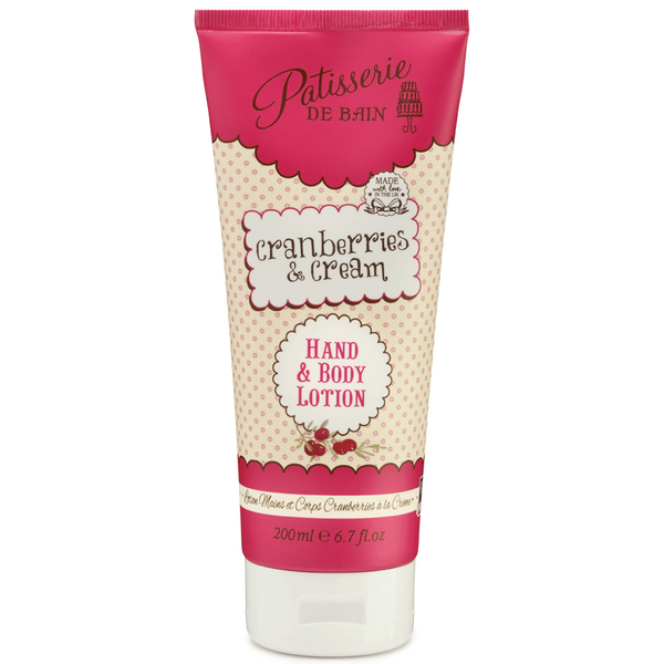 CRANBERRIES & CREAM – HAND & BODY LOTION