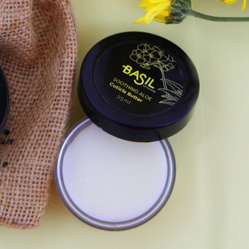 Basil Skincare Soothing Aloe Cuticle Butter