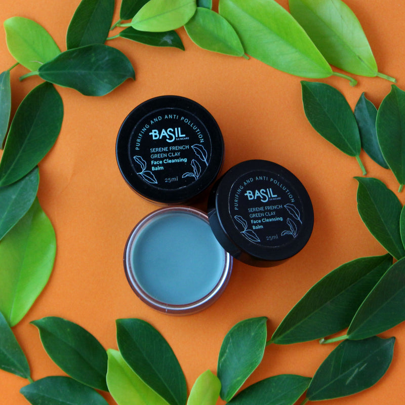 Basil Skincare Serene French Green Clay Cleansing Balm