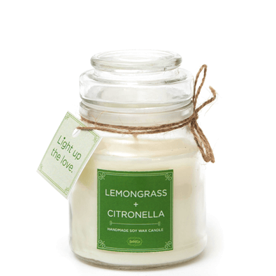 BATHITUP LEMONGRASS & CITRONELLA SOY CANDLE