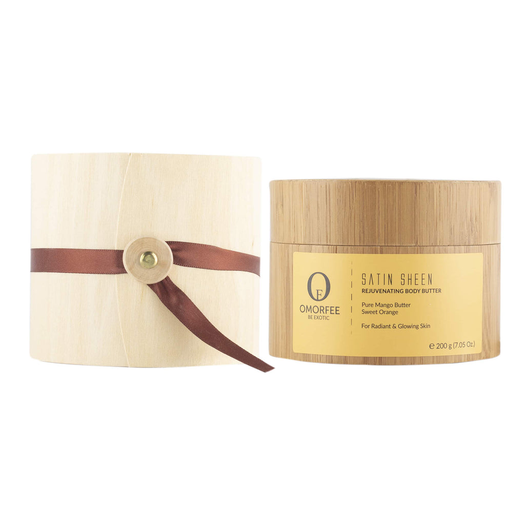 Omorfee Satin Sheen Rejuvenating Body Butter