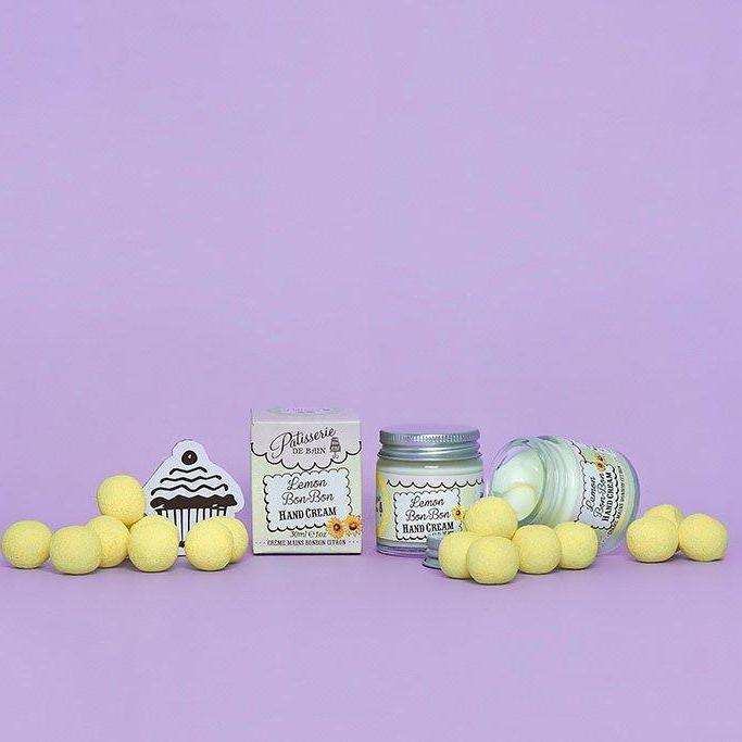 LEMON BON BON HAND CREAM JAR 30ML