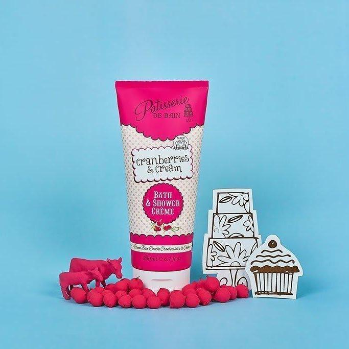 CRANBERRIES & CREAM – BATH & SHOWER CREME