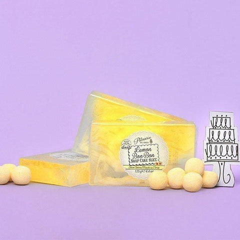 LEMON BON BON SOAP CAKE SLICE