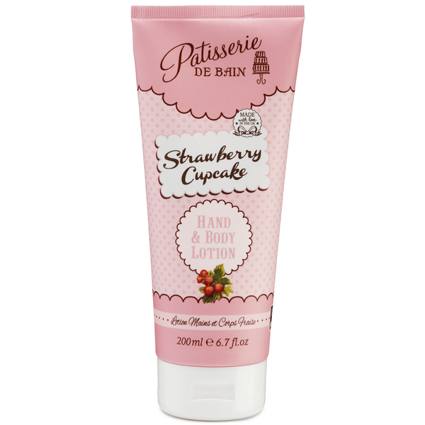 STRAWBERRY CUPCAKE HAND & BODY LOTION