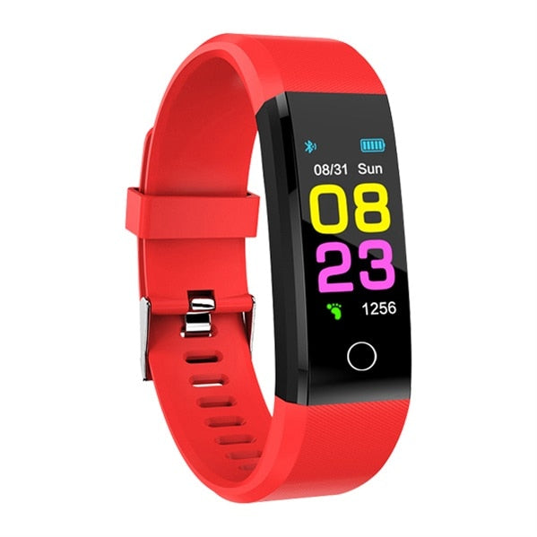 2019 New Smart Watch Men Women Heart Rate Monitor Blood Pressure Fitness Tracker Smartwatch Sport Watch for ios android +BOX