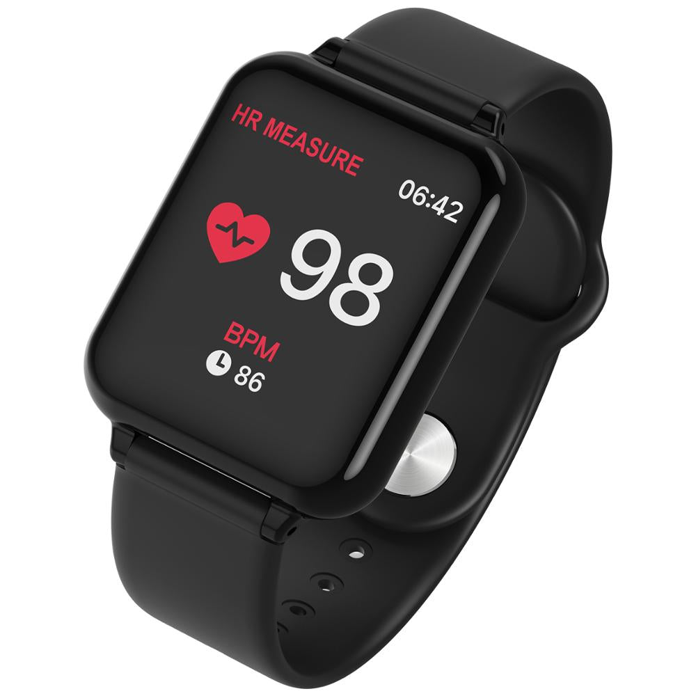 696 B57 Smart Watch Blood Pressure Fitness Tracker Heart Rate Tracker IP67 Waterproof Bluetooth Smart Bracelet Sport Wristwatch