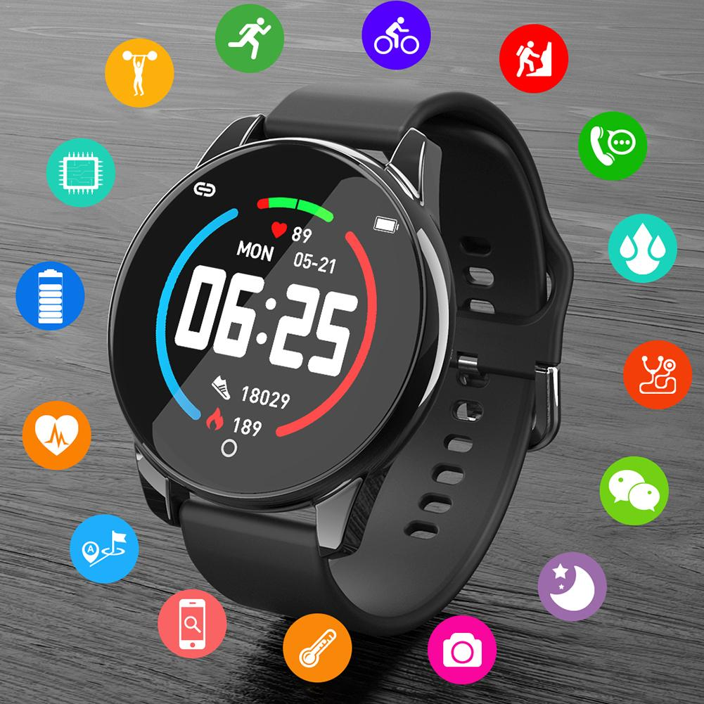 IP67 Waterproof Smart Watch Sport Bracelet Wristband Heart Rate Blood Pressure Monitoring Health Reminder Sports Watch For Men