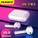 i9S TWS Wireless Bluetooth 5.0 Earphones Binaural Calling Headphone With Charging Box Stereo Headset for all phone