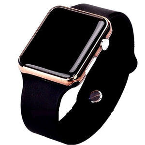 Dropshipping Useful Handy Digital Smart Watch with for all kinds of mobile phone devices with LED light