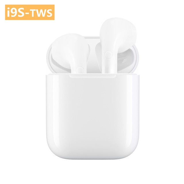i9s TWS Earbuds Mini Wireless Bluetooth Earphones Headsets Stereo Super Bass Earbuds Wireless for IPhone Xiaomi Huawei Samsung
