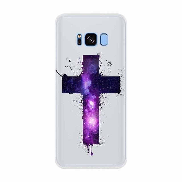 Case For Samsung Galaxy S8 Plus Bible Jesus Christ Christian Cross