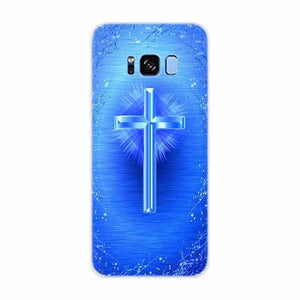 Case For Samsung Galaxy S9 Edge Bible Jesus Christ Christian Cross