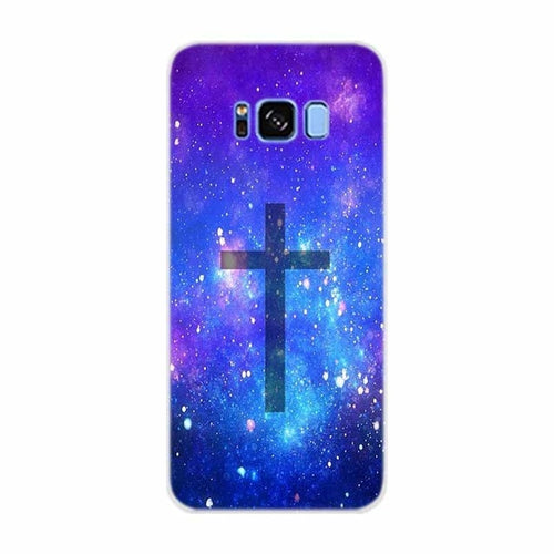 Case For Samsung Galaxy S10 Bible Jesus Christ Christian Cross