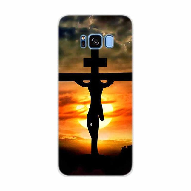 Case For Samsung Galaxy Note 8 Bible Jesus Christ Christian Cross