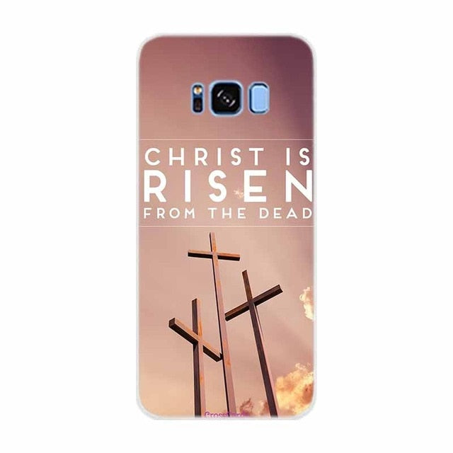 Case For Samsung Galaxy S10E  Bible Jesus Christ Christian Cross