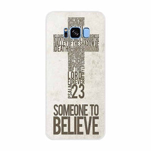 Case For Samsung Galaxy S10 5G Bible Jesus Christ Christian Cross