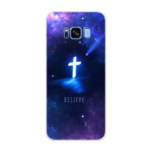 Case For Samsung Galaxy S10 Plus Bible Jesus Christ Christian Cross
