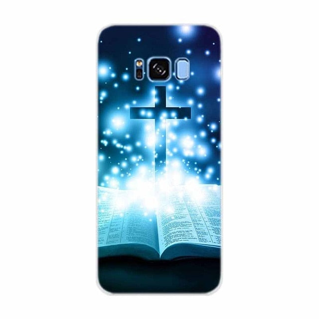 Case For Samsung Galaxy S8  Bible Jesus Christ Christian Cross