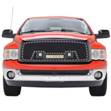 ABS Grille with light 2002- 2005 for Dodge Ram 1500  for  Ram2500/3500  2003-2005