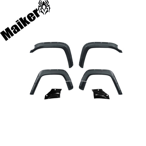 4x4 Abs Plastic Rivet Type Fender Flares For Fj Cruiser Accessories 2007+ Mud Guard Car Parts
