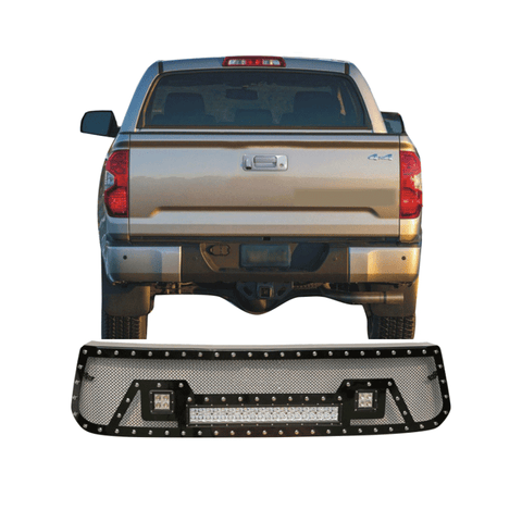 4x4 Accessories Front Grille Mesh Grille For Tundra Accessories Offroad Abs Grill