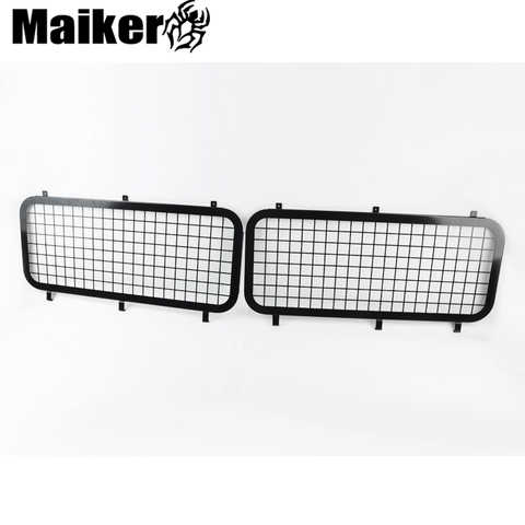 4x4 Steel Rear Window Grille For Land Rover Defender Mesh Grille
