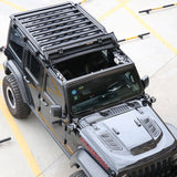 4 Door Aluminum  Roof Luggage  For  Jeep Wrangler JL 2018 +  Roof Rack /luggage rack