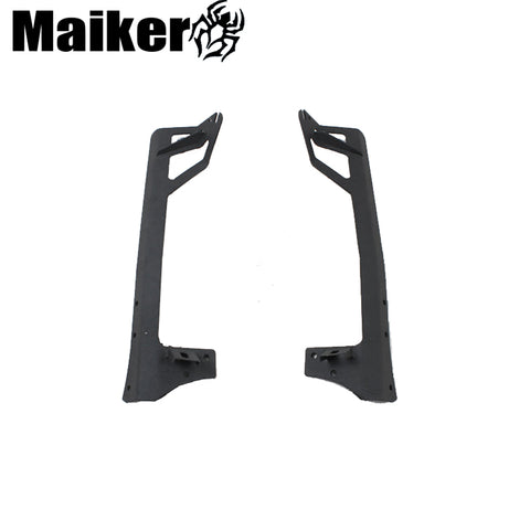 A Pillar steel light bar light holder For Jeep Wrangler JK 2007+ 4x4 auto parts accessories