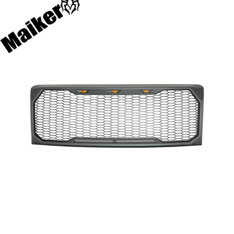 Abs Front Grille With Light For F150 Accessories 2009-2014 From Maiker