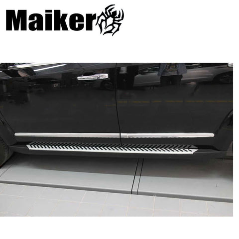 Aluminium alloy Running boards for Dodge car Side step bar auto nerf bar 4x4 accessories