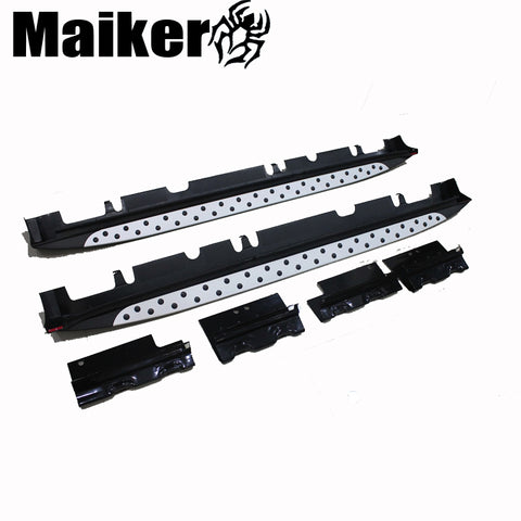 Aluminium alloy side step bar running boards for Hyundai Santafe 2010 accessories 4x4 tuning parts