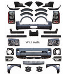 Body Kits For Land Rover Discovery 3 Update Discovery 4 Chrome Grille Bumper Assembly Parts