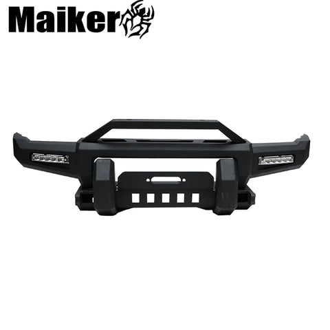 Car Parts Front Bumper With Light For Suzuki Jiminy 4x4 Offroad Accessories