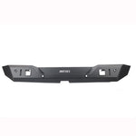 Avengers  Steel Rear Bumper  With Radar Hole  For Jeep Wrangler JL  2018+