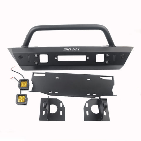 Avengers Steel Front  Bumper With Radar Hole For Jeep Wrangler JL 2018+