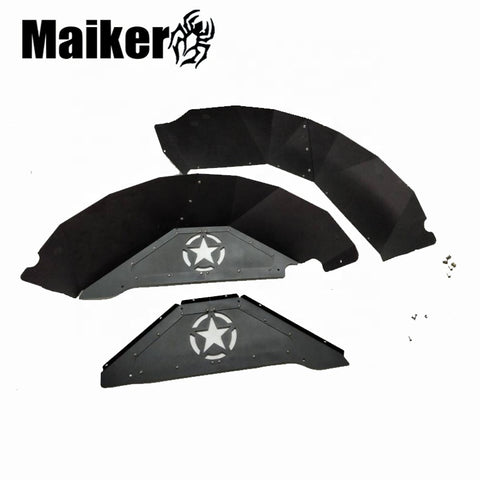 Factory Newest Aluminum Rear Inner Fender Liner For Jk Fender Interior Parts Front Fender Liner For Jeep Wrangler Jk
