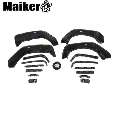 Fender Flare Auto Parts Mud Guard For Jeep Wrangler Jk 07 + Accessories From Maiker
