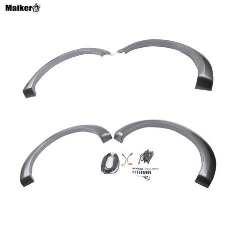 Fender flare with light for F150 15-17 accessories 4x4 car parts wheel eyebrow for F150