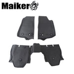 Floor Mat Liner Kit For Jeep Wrangler Jl Interior Parts Rubber Mat Waterproof 3d Car Mats
