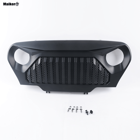 Front grills for Jeep wrangler TJ 1997-2006 accessories hight quality off road ABS grilles