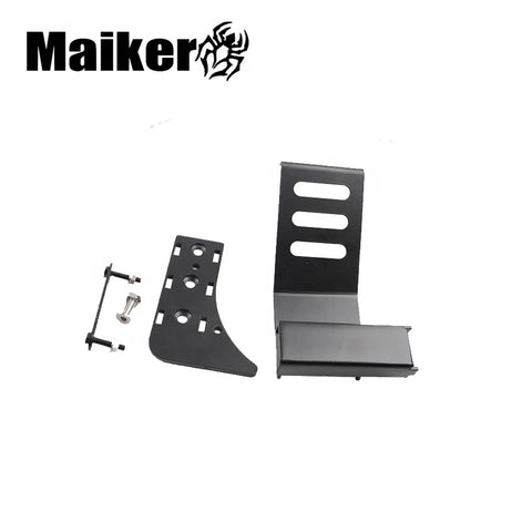 Maiker Steel Foot Rest Pedal For Jeep Wrangler Jl 2018 Interior Body Parts