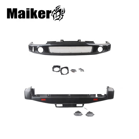 Maiker Auto Front Rear Bumper For Suzuki Jimny Accessories Abs Bumper Protector For Jimny Japanese Car