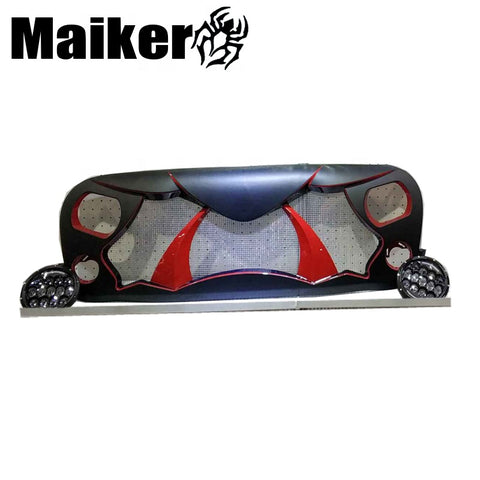 New Design 2018 Car Accessories For Wrangler Grille Abs Front Grille Body Parts For Jeep Wrangler Jl